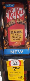 Nestle 170g KitKat Dark With Southern Australian Orange 1