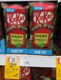 Nestle 170g KitKat Dark With Tasmanian Mint 1