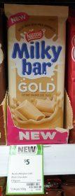 Nestle 170g Milky Bar Gold 1