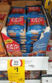 Nestle 45g KitKat Cookie Collision 1