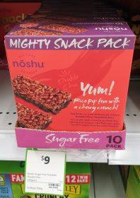 Noshu 220g Bars Sugar Free Double Choc