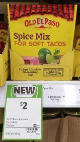 Old El Paso 30g Spice Mix Crispy Chicken Seasoning