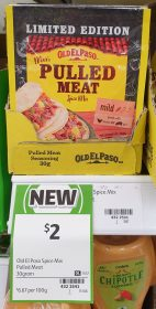 Old El Paso 30g Spice Mix Mexi Pulled Meat