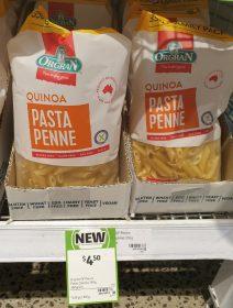 Orgran 350g Pasta Penne Quinoa