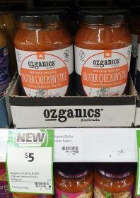 Ozganics 500g Curry Simmer Sauce Butter Chicken Style 1