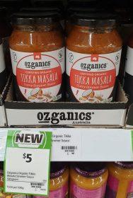Ozganics 500g Curry Simmer Sauce Tikka Masala 1