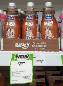 Pauls 250mL Bluey Chocolate Flavoured Milk 1