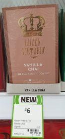 Queen Victoria 100g Tea Vanilla Chai