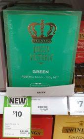 Queen Victoria 150g Tea Green