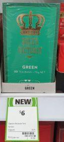 Queen Victoria 75g Tea Green