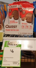 Quest 42g Cups Peanut Butter