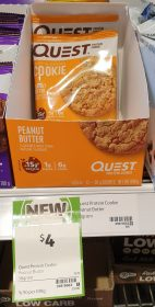 Quest 59g Protein Cookie Peanut Butter