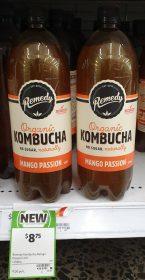 Remedy 1.25L Kombucha Mango Passion