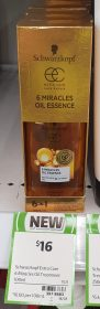 Schwarzkopf 100mL Extra Care 6 Miracles Oil Essence