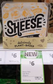 Sheese 200g Dairy Free Slices