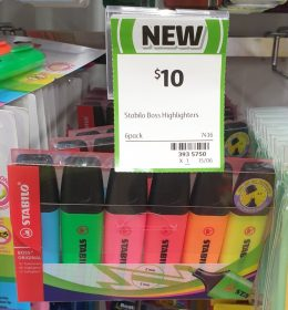 Stabilo 6 Pack Highlighters