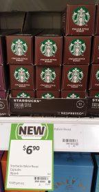 Starbucks 10 Pack Capsules Italian Style Roast
