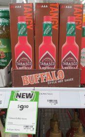 Tabasco 150mL Hot Sauce Buffalo Tangy
