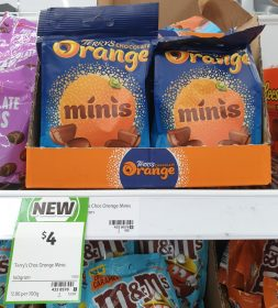 Terrys Chocolate 140g Orange Minis