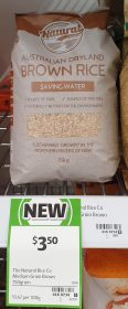 The Natural Rice Co 750g Brown Rice 1