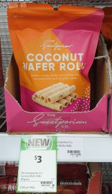 The Sweetporium Co 150g Coconut Wafer Rolls