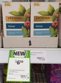 Twinings 18 Pack Hot Brew Focus