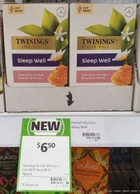 Twinings 18 Pack Hot Brew Sleep Well