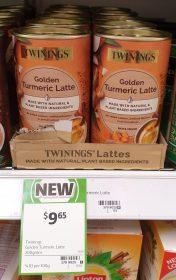 Twinings 200g Latte Golden Turmeric