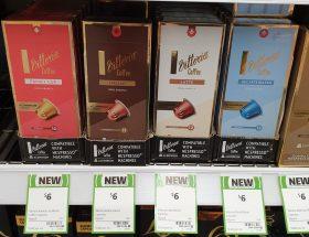Vittoria 10 Pack Coffee Capsules Family Cup Italian Latte Decaffeinated