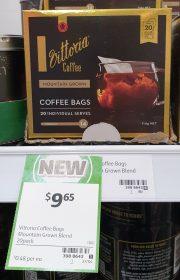 Vittoria 114g Coffee Bags Mountain Grown