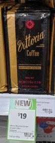 Vuttoria 500g Coffee Ground Mountain Grown