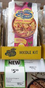Blue Dragon 165g Noodle Kit Singapore Noodles