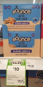 Bounce 175g Keto Low Carb Almond Vanilla