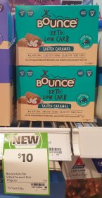 Bounce 175g Keto Low Carb Salted Caramel
