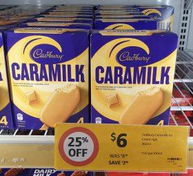 Cadbury 360mL Ice Cream Caramilk