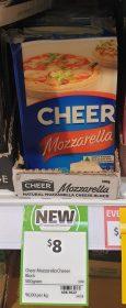 Cheer 500g Cheese Block Mozzarella