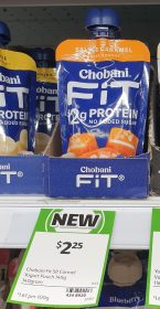 Chobani 140g Fit Greek Yogurt Salted Caramel