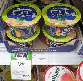 Chobani 170g Fit Greek Yogurt Tropical
