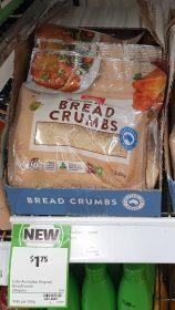 Coles 220g Bread Crumbs