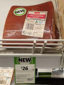 Coles 26 Kg Pork Speck Portion Beechwood Smoked 2