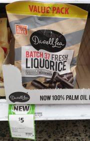 Darrell Lea 450g Liquorice Batch 37