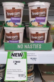 Five Am Organic 170g Yoghurt Superfoods
