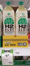H2 Aloe 1L Aloe Water Pineapple 1