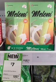 Icetoto 390g Milk Pops Meloni