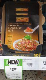 Lee Kum Kee 80g Ready Sauce XO Stir Fry Rice 1