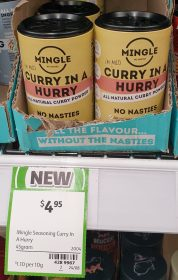 Mingle 45g Seasoning Curry In A Hurry 1