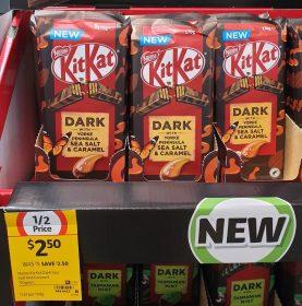 Nestle 170g KitKat Dark With Yorke Peninsula Sea Salt Caramel