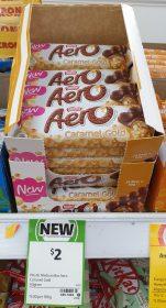 Nestle 40g Aero Caramel Gold