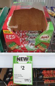 Nestle 45g Kit Kat Aero Mint