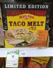 Old El Paso 385g Taco Melt The Kit